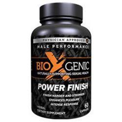 Bioxgenic Power Finish Male Performance 60 Capsules
