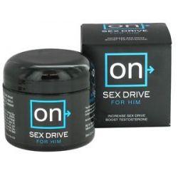Sensuva on Sex Drive Testosterone Booster Cream for Him 2 Oz
