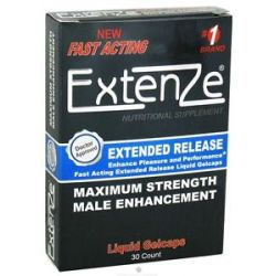 Extenze Maximum Strength Male Enhancement Fast Acting Extended Release 30