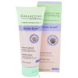 Collective Wellbeing Good Glide Personal Lubricant with Aloe Vera Natural