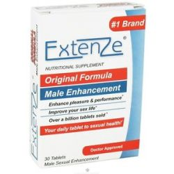 Extenze Maximum Strength Male Enhancement Original Formula 30 Tablets
