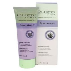 Collective Wellbeing Good Glide Personal Lubricant with Aloe Vera Unflavored
