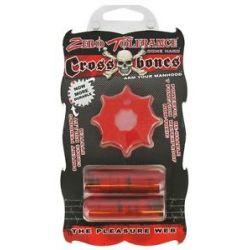 Evolved Novelties Zero Tolerance Cross Bones The Pleasure Web Double Bullet