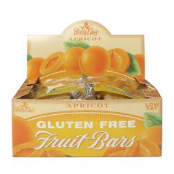 Betty Lou's Fruit Bars Gluten Free Apricot 2 Oz