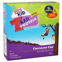 Clif Bar Kid Z Bar Protein Chocolate Chip 5 Bars