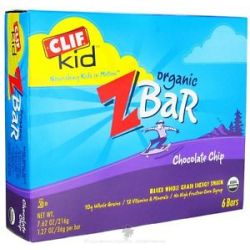 Clif Bar Kid Z Bar Organic Chocolate Chip 6 Bars