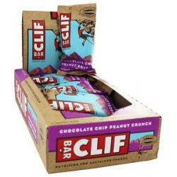 Clif Bar Energy Bar Chocolate Chip Peanut Crunch 2 4 Oz
