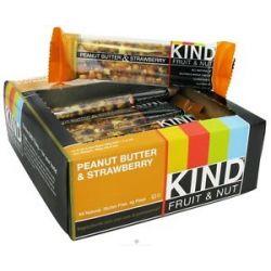Kind Bar Fruit Nut Bar Peanut Butter Strawberry 1 4 Oz