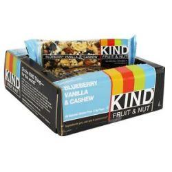 Kind Bar Fruit Nut Bar Blueberry Vanilla Cashew 1 4 Oz