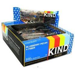 Kind Bar Plus Fiber Nutrition Bar Blueberry Pecan 1 4 Oz
