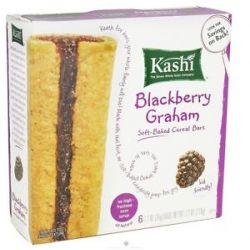 Kashi Soft Baked Cereal Bars Blackberry Graham 7 2 Oz