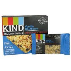 Kind Bar Healthy Grains Bars Vanilla Blueberry 5 Bars