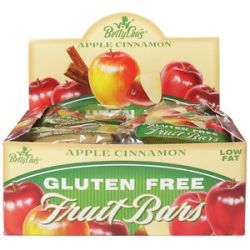 Betty Lou's Fruit Bars Gluten Free Apple Cinnamon 2 Oz