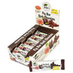 Oskri Fig Bar with Dark Chocolate Gluten Free 1 9 Oz