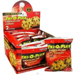 Chef Jay's Tri O Plex Cookies Chocolate Chip 2 Pack S