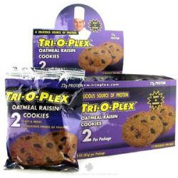 Chef Jay's Tri O Plex Cookies Oatmeal Raisin 2 Pack S