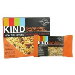 Kind Bar Healthy Grains Bars Peanut Butter Dark Chocolate 5 Bars