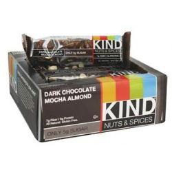 Kind Bar Nut and Spices Bar Dark Chocolate Mocha Almond 1 4 Oz