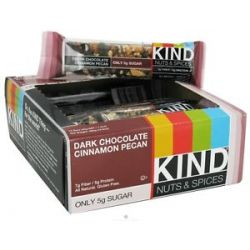 Kind Bar Nut and Spice Bar Dark Chocolate Cinnamon Pecan 1 4 Oz