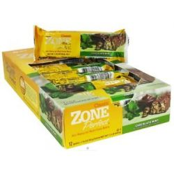 Zone Perfect All Natural Nutrition Bar Chocolate Mint 1 76 Oz