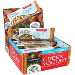 Rickland Orchards All Natural Greek Yogurt Coated Bar Strawberri 1 41 Oz