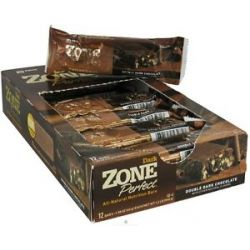Zone Perfect All Natural Nutrition Bar Double Dark Chocolate 1 58 Oz