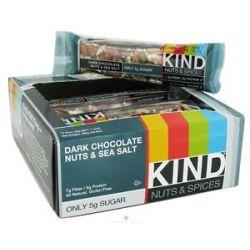 Kind Bar Nut and Spice Bar Dark Chocolate Nuts and Sea Salt 1 4 Oz
