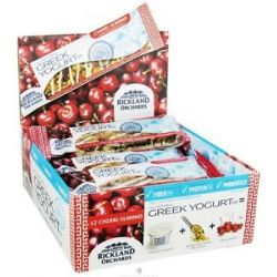 Rickland Orchards All Natural Greek Yogurt Coated Bar Cherri Almond 1 41 Oz