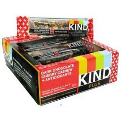 Kind Bar Plus Antioxidant Nutrition Bar Dark Chocolate Cherry Cashew 1 4 Oz