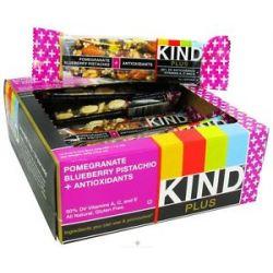 Kind Bar Plus Antioxidant Nutrition Bar Pomegranate Blueberry Pistachio 1 4