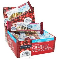 Rickland Orchards All Natural Greek Yogurt Coated Bar Cranberry Almond 1 41
