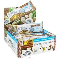 Rickland Orchards - All Natural Greek Yogurt Coated Bar Toasted Coconut - 1.41