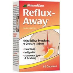 Naturalcare Reflux Away 60 Capsules