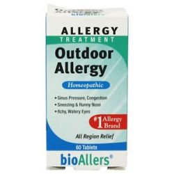 Bioallers Outdoor Allergy 60 Tablets