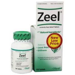 BHI Heel Zeel Arthritis Pain Relief 100 Tablets