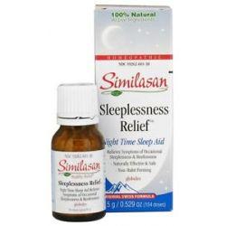 Similasan Sleeplessness Relief Globules 0 52 Oz