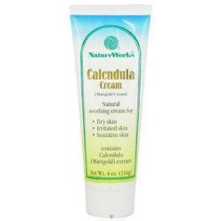 Natureworks Calendula Cream Marigold Cream 4 Oz