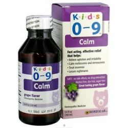 Homeolab USA Kids 0 9 Calm Grape Flavor 3 4 Oz