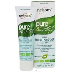 Nelsons Pure Clear Acne Treatment Gel 1 Oz