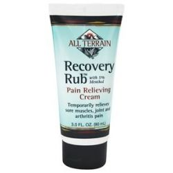 All Terrain Recovery Rub with 5 Menthol 3 Oz