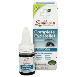 Similasan Complete Eye Relief Sterile Eye Drops 0 33 Oz
