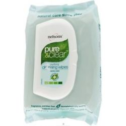 Nelsons Pure Clear Purifying Cleansing Wipes 32 Wipe S