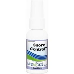 King Bio Homeopathic Natural Medicine Snore Control 2 Oz