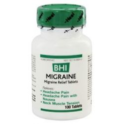 BHI Heel Migraine 100 Tablets formerly Headache II