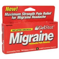 Windmill Health Products Gelstat Migraine 4 Dose S