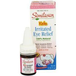 Similasan Kids Irritated Eye Relief Eye Drops 0 33 Oz