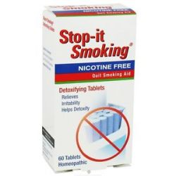 Natrabio Stop It Smoking Quit Smoking Aid 60 Tablets