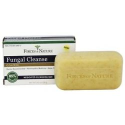 Forces of Nature Fungal Cleanse Medicated Cleansing Bar 3 5 Oz