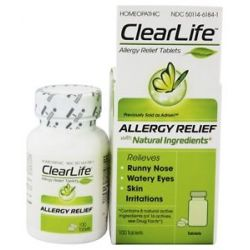 BHI Heel Clearlife Allergy Relief 100 Tablets formerly Adrisin Allergy