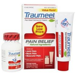 BHI Heel Traumeel Pain Relief Value Pack 100 Tablets 1 76 oz Ointment